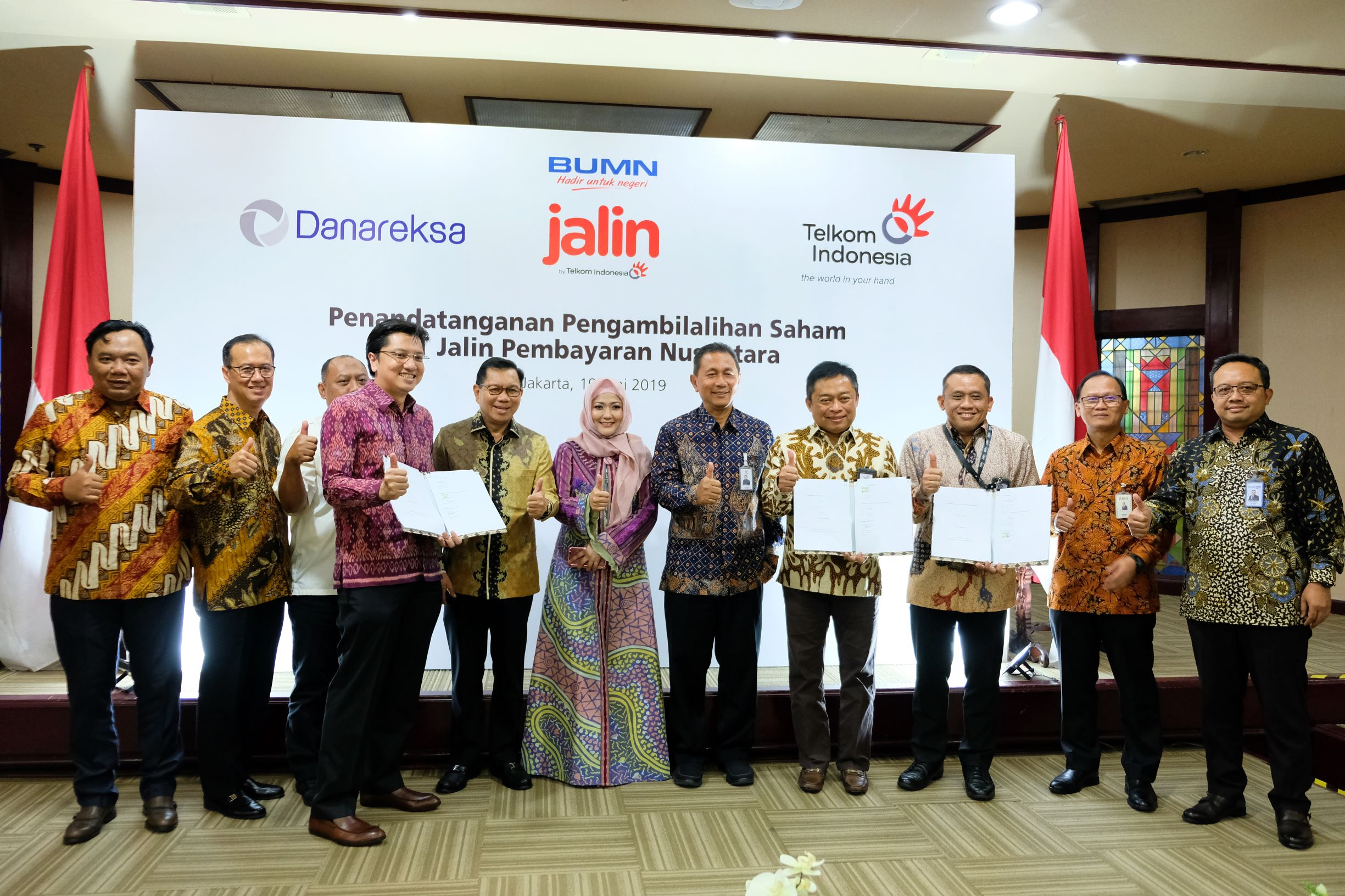 Danareksa Acquires Majority Share of Jalin Pembayaran Nusantara