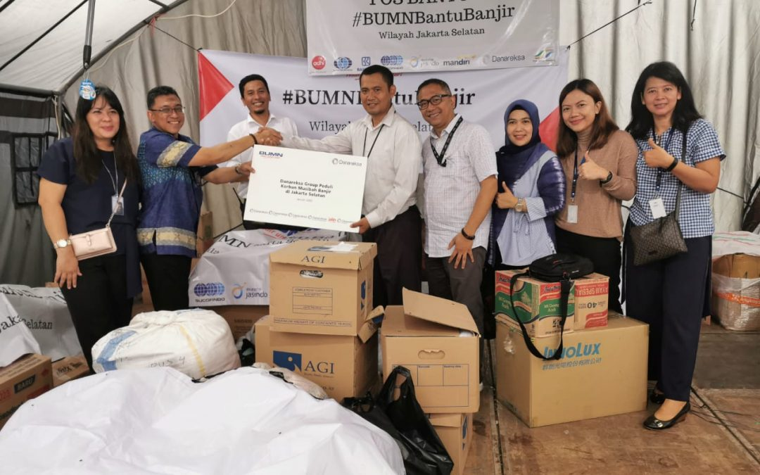 Jalin Distributes Aid for Flood Victims in South Jakarta
