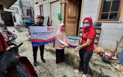 JALIN DISTRIBUTES COVID-19 SOCIAL ASSISTANCE IN FIVE JAKARTA AREAS