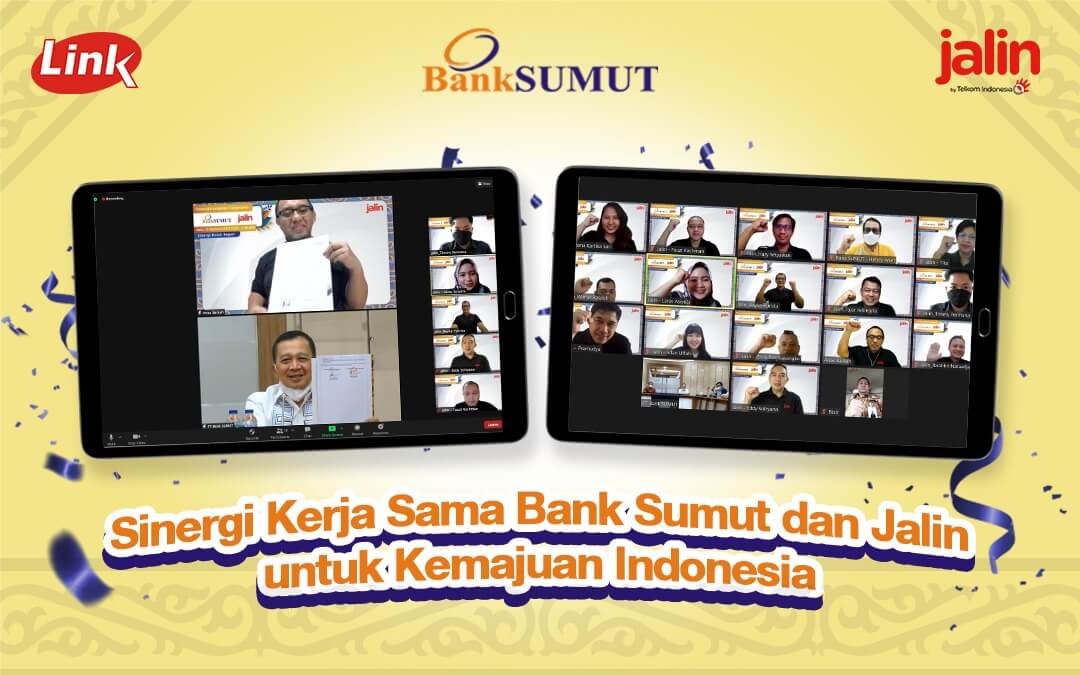 The Partnership Synergy Between Bank Sumut and JALIN for the Betterment of Indonesia
